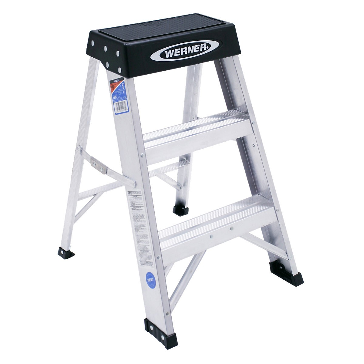Buy The Werner 150b Aluminum Step Stool Type Ia 2 Ft