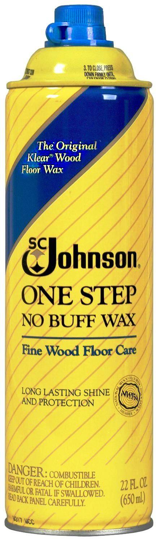 Buy The Sc Johnson 00125 One Step No Buff Wax 22 Oz At