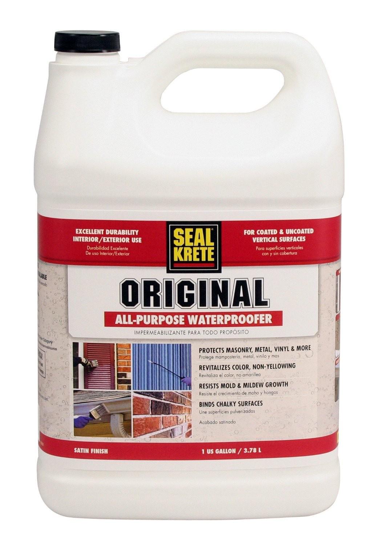 Satin Finish Cement : Buy the seal krete waterproofing sealer