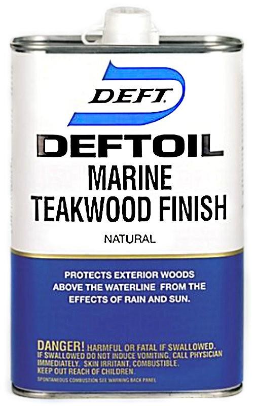 Buy The Deft 18201 Marine Teakwood Finish Gallon Hardware World