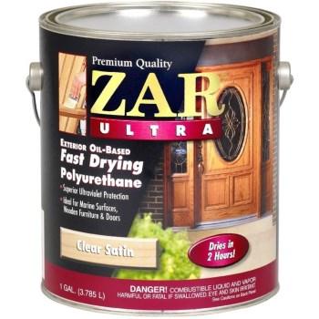 Buy the ugl 34113 zar ultra exterior polyurethane satin Zar exterior water based polyurethane