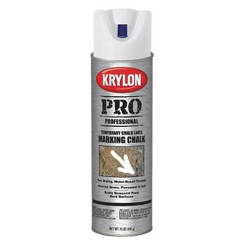 buy the krylon 5894 marking chalk spray paint white 15. Black Bedroom Furniture Sets. Home Design Ideas