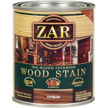 ... finishes stains zar brand wood stain mocha 1 qt wood stain mocha 1 qt